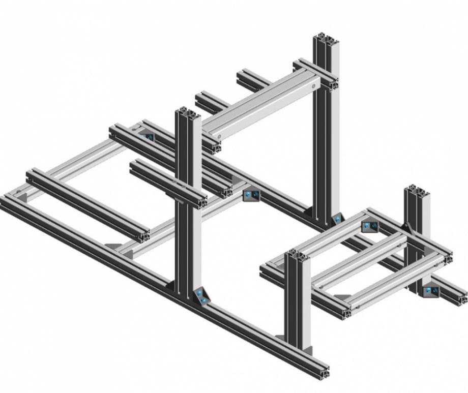 konstrukcje z profili aluminiowych