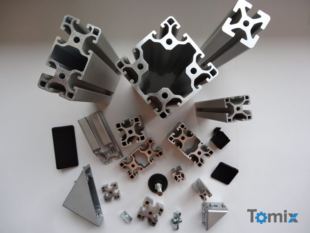 części i akcesria do profili aluminiowych